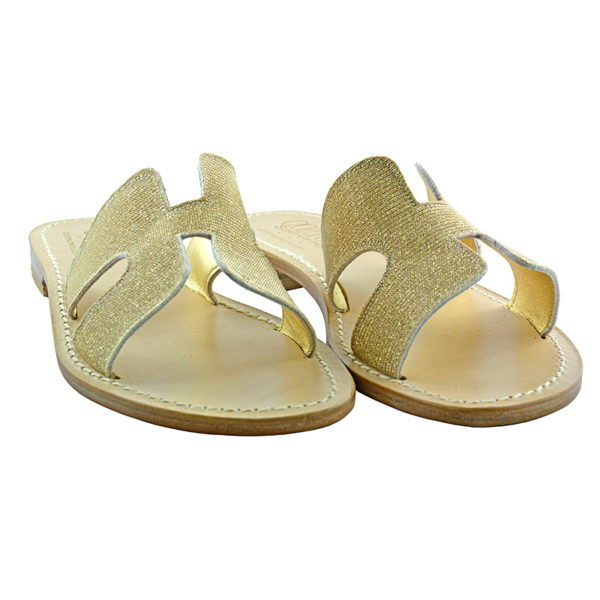 Hakka - Sandalo glitter oro