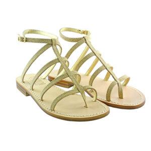 Iliry - Sandalo glitter oro