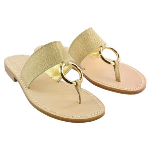 Ringo - Sandalo glitter oro