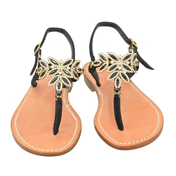 Belamì - Sandalo donna impreziosito da cristalli