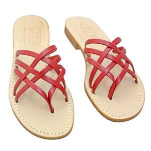 Canestro - Sandalo donna in pelle