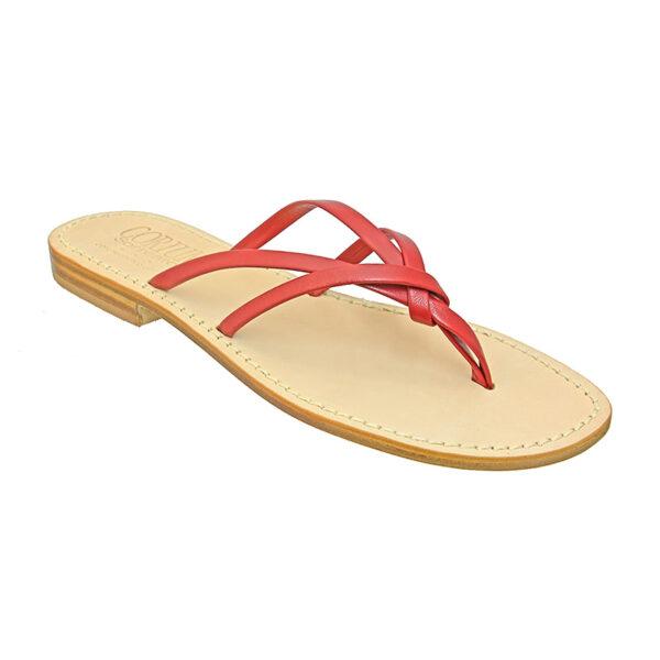 Chiocciola - Sandalo donna in pelle