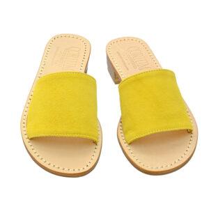 Fascetta - Sandalo donna in camoscio