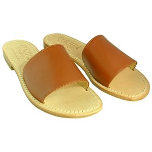 Fascetta - Sandalo donna in pelle