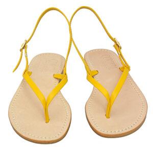 Giapponesino - Sandalo donna in pelle