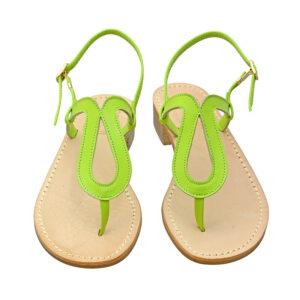 Omega - Sandalo donna in pelle