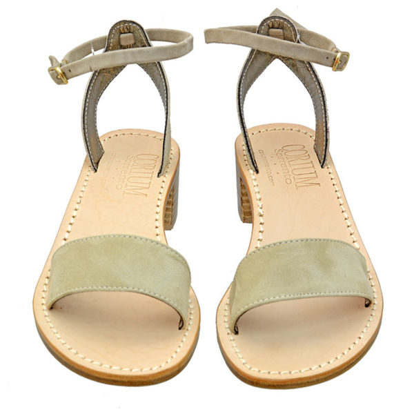 Osiride - Sandalo donna in camoscio