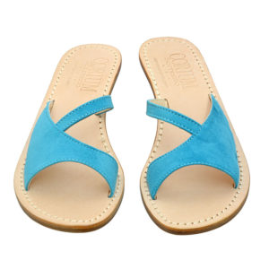 Rossy - Sandalo donna in camoscio