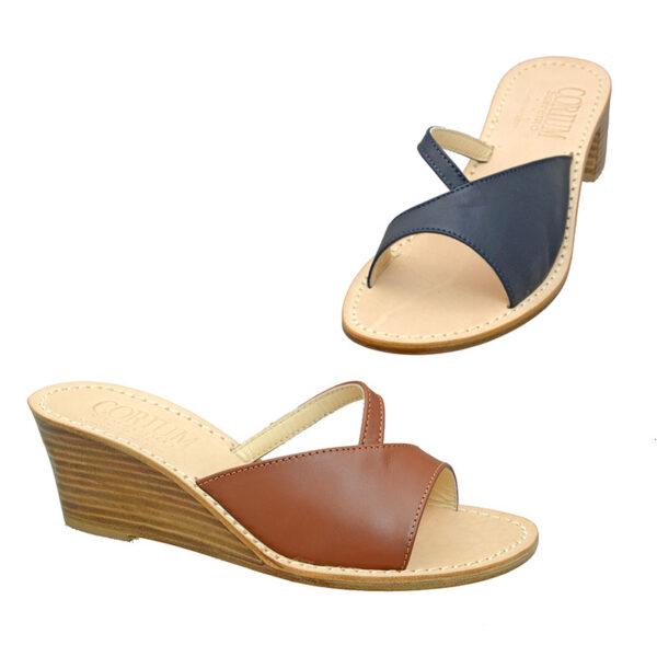 Rossy - Sandalo donna in pelle