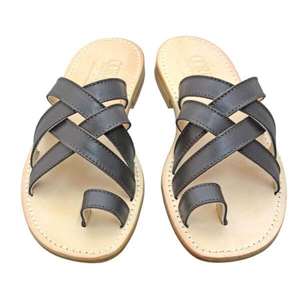 Torquato - Sandalo uomo in pelle