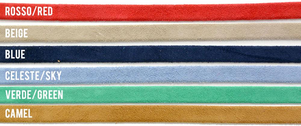 Colori Camoscio - Sandali artigianali Corium, Sorrento