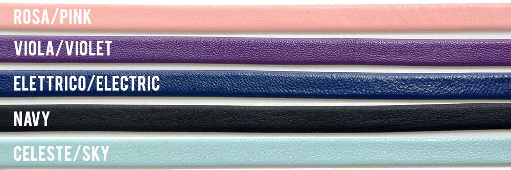 Colori pelle classica - Sandali artigianali Corium, Sorrento