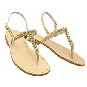 Fiorellino - Sandalo donna gioiello