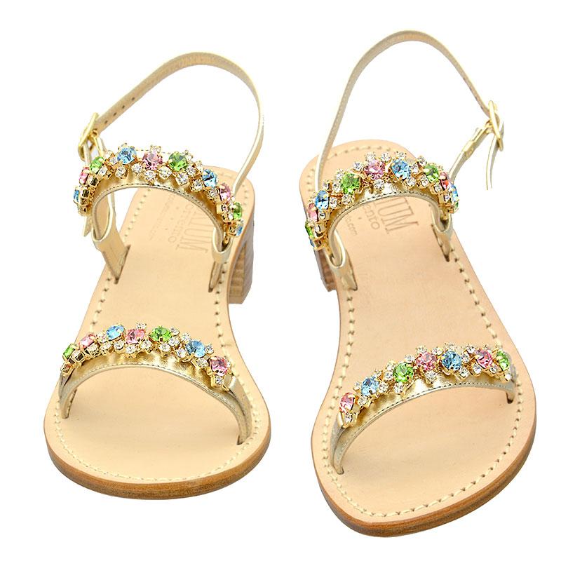 Sandali in pelle Ponza